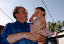 Walter with granddaughter Ariel at her 2nd birthday party.  Click on image to enlarge.