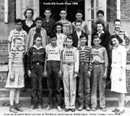 Verda, Louisiana 8th Grade Class (1948).  Click to enlarge.